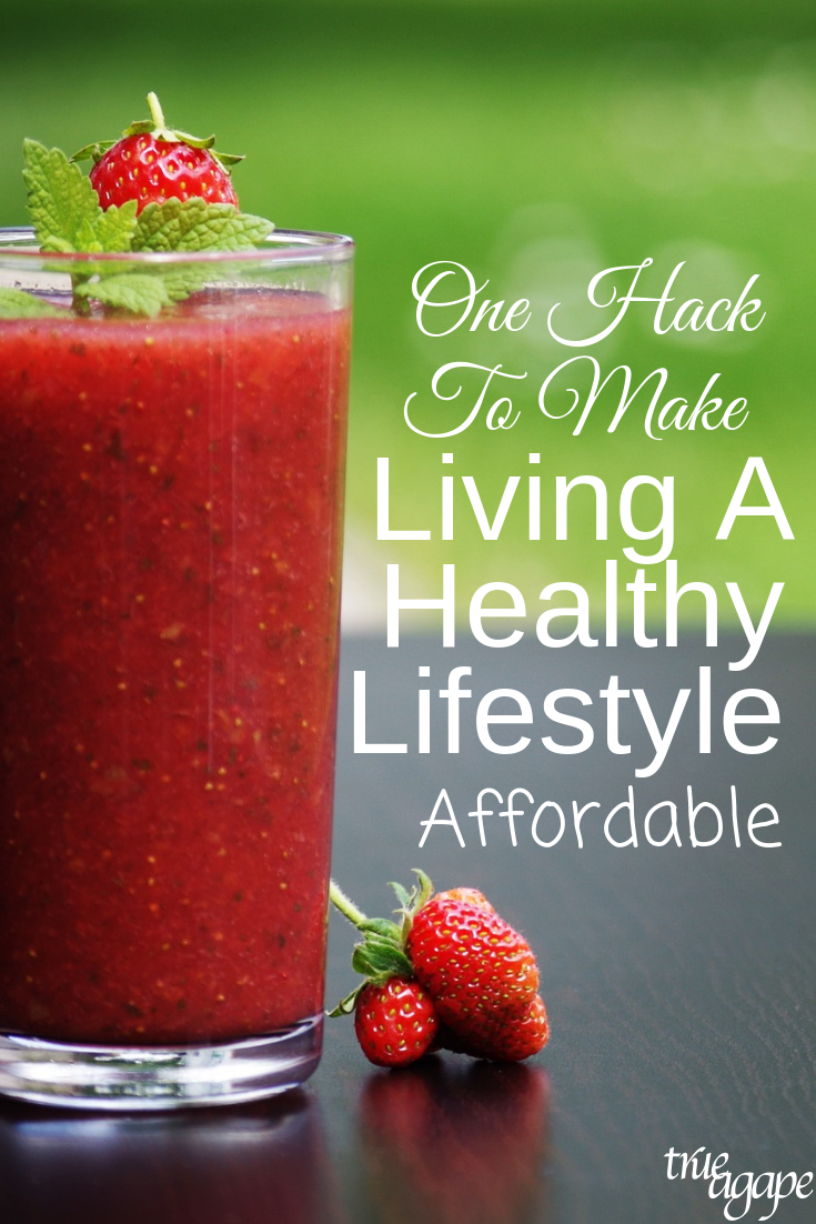 Do you long to live a healthy lifestyle, but it's just so hard to make it affordable? I'm sharing one hack to make living a healthy lifestyle affordable for your family!