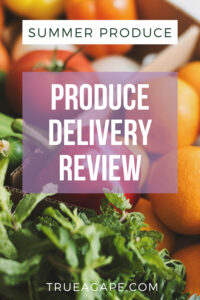 This produce delivery will have you loving your summer produce. The organic produce is delishes, perfect for your summer recipes, and perfect for gift giving. Get ready to enjoy some awesome summer produce!